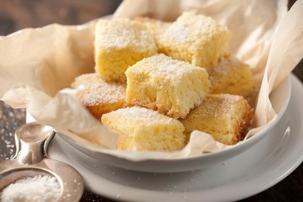 Brownies de coco