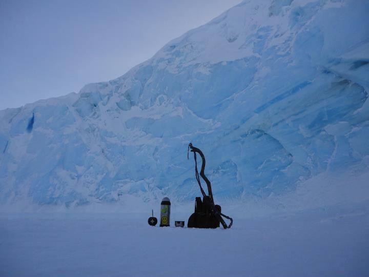 ¡¡En la Antártida!!