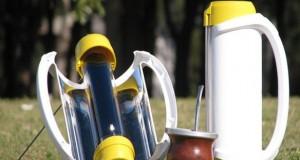 Solarmate - termo que calienta el agua para el mate con energia solar